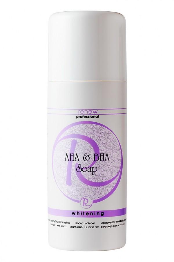 Мыло с кислотами Альфа и Бета RENEW 500 мл - Renew AHA & BHA SOAP 500 ml