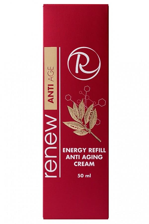 Антивозрастной питательный крем - энергетик RENEW
