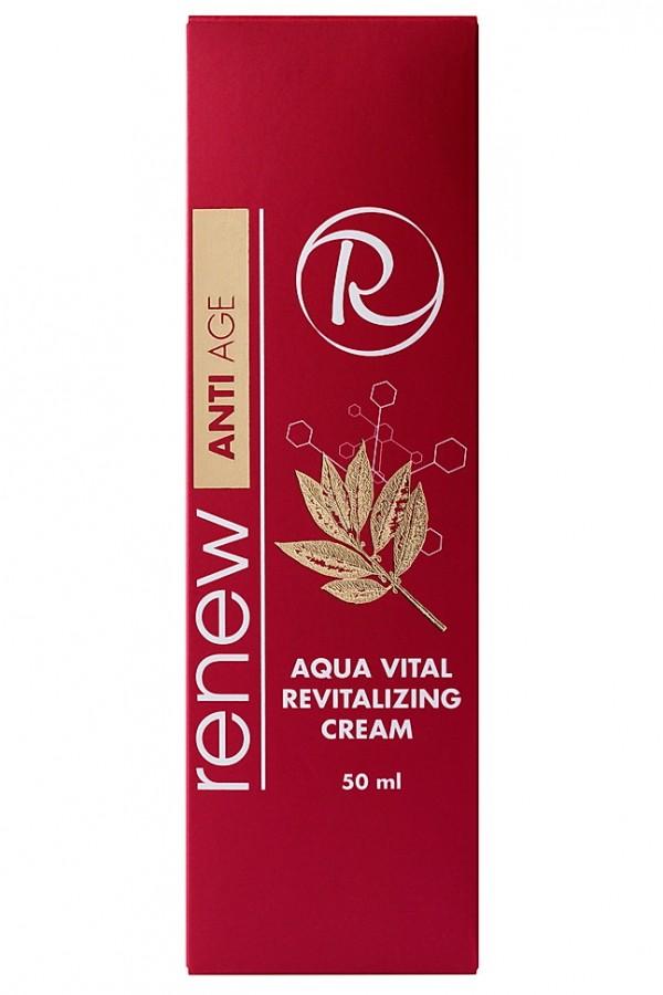 Антивозрастной солнцезащитный увлажняющий крем RENEW 50 мл - Renew AQUA VITAL REVITALIZING CREAM 50 ml