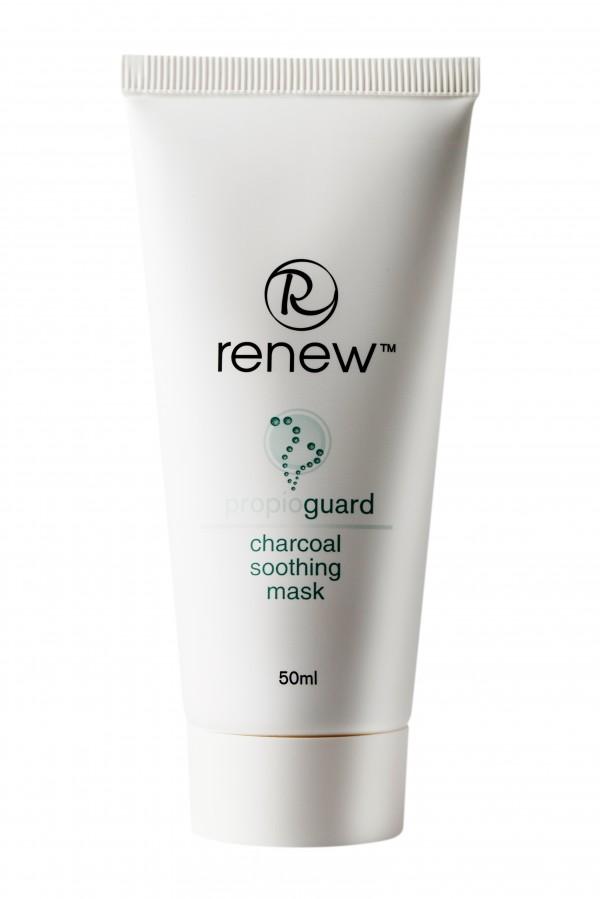 Успокаивающая маска на основе активированного угля RENEW