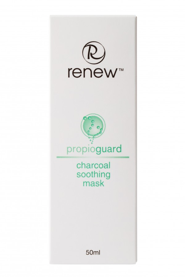 Успокаивающая маска на основе активированного угля RENEW 50 мл - Renew Charcoal Soothing Mask 50 ml