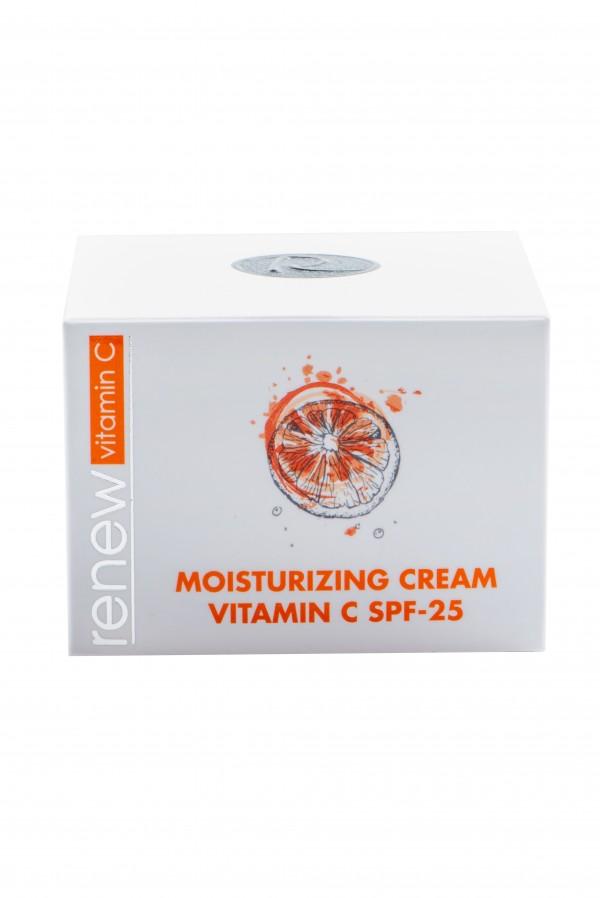 Крем-антиоксидант с активным витамином С SPF-25 RENEW 50 мл - Renew Moisturizing cream vitamin C SPF-25 50 ml