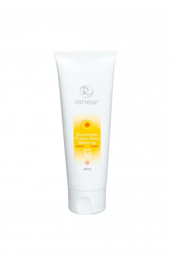 Солнцезащитный тональный крем-антиоксидант SPF-30 RENEW