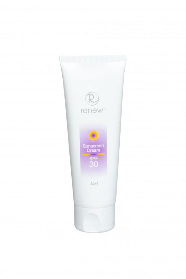 Увлажняющий солнцезащитный крем SPF-30 RENEW