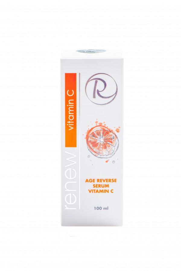 Антивозрастная сыворотка с активным витамином С Ренью 100 мл - Renew Age Reverse Serum Vitamin C 100 ml