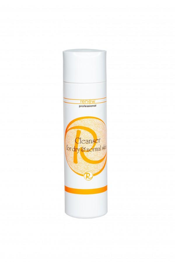 Очищающий гель для нормальной и сухой кожи RENEW