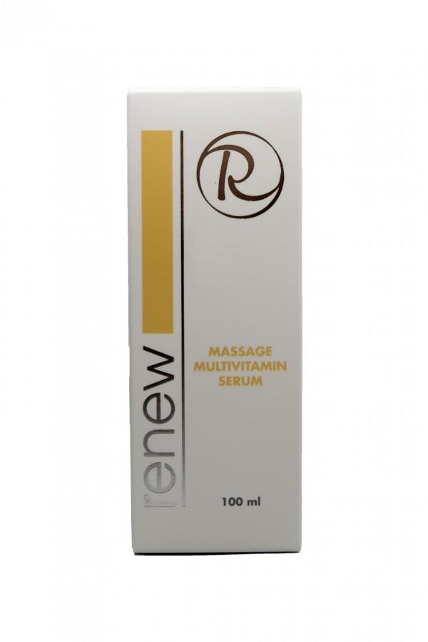 Массажная сыворотка Мультивитамин Ренью 100 мл - Renew Massage multivitamin serum 100 ml