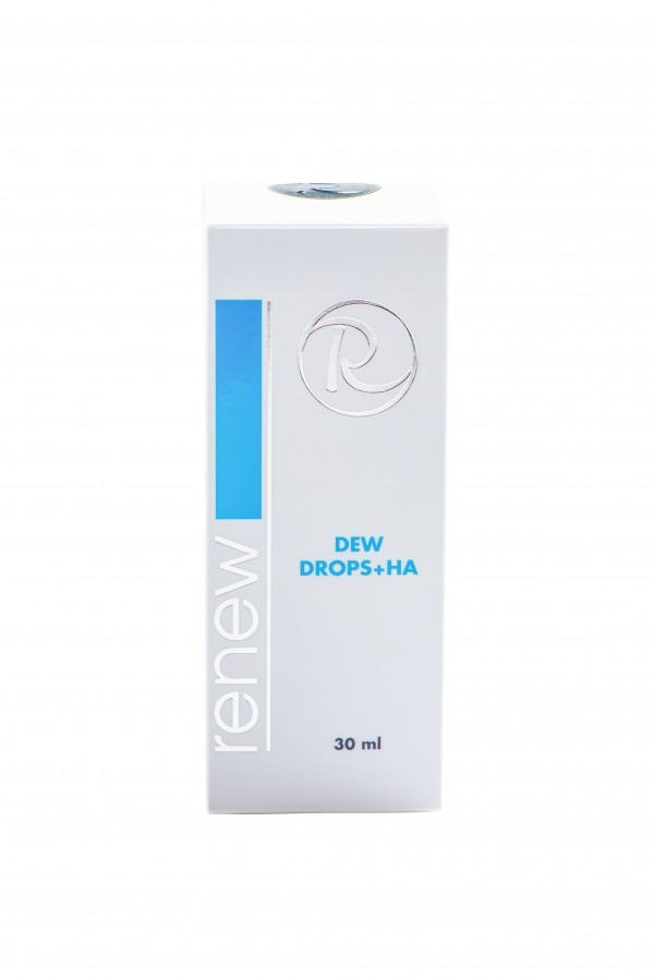 Регенерирующие глубокоувлажняющие капли с гиалуроновой кислотой Ренью 30 мл - Renew Dew drops HA 30 ml